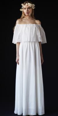 THE SURREY - ザ・サリィ | 70年代のソフトボヘミアンスタイルを意識したドレス。(2015/07/13)