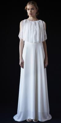 THE SURREY - ザ・サリィ | ケープとドレスがセットになったロングドレス。(2015/07/13)