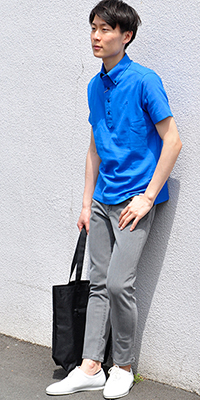 ADAM ET ROPÉ HOMME - アダム エ ロペ オム | Wild Life Tailorの人気定番ポロシャツ!今夏も待望のリリース ! !(2016/05/19)