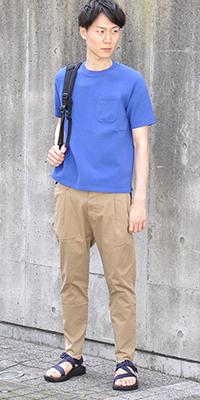 ADAM ET ROPÉ HOMME - アダム エ ロペ オム | 大人の雰囲気漂う夏に着易いニットTシャツです(2016/06/16)