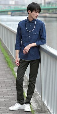 JUNRed - ジュンレッド | 夏の爽やかシャツスタイリングVOL.3(2016/07/25)