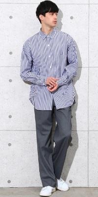 ADAM ET ROPÉ HOMME - アダム エ ロペ オム | トルコのドレスシャツ生地メーカーのストライプ生地を使用したシャツ(2017/04/06)
