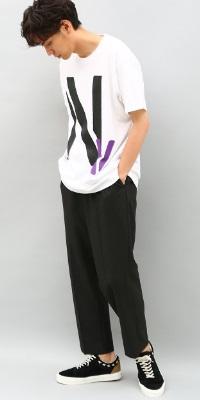 ADAM ET ROPÉ HOMME - アダム エ ロペ オム | シンプルさの中にセンスが光る、デザインTシャツ(2017/08/10)