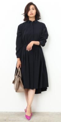 ROPÉ - ロペ | 無防備に着崩したシャツドレスに宿る〝ヘルシー×センシュアル〟(2017/09/07)