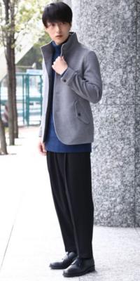 JUNRed - ジュンレッド | 【JUNRed】すっきりした印象で着こなせるキレイめニット。柔らかな素材感やこだわりの編み地も魅力的。(2017/12/04)