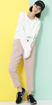 NERGY - ナージー | カジュアルアイテムもピンクを入れて可愛く。(2018/02/19)