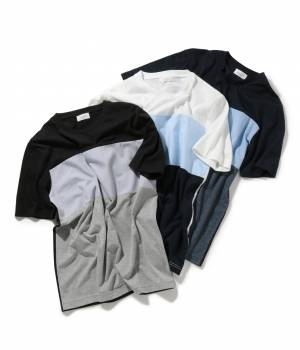 JUNRed - ジュンレッド | 【先行予約】【店舗限定アイテム】ブロック切替Tシャツ