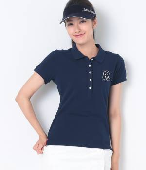 JUN&ROPÉ - ジュン アンド ロペ | 製品染め半袖ポロシャツ