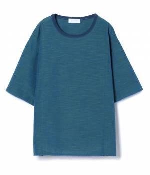 ADAM ET ROPÉ HOMME - アダム エ ロペ オム | 【会津もめん×ADAM ET ROPE'】布帛Tシャツ