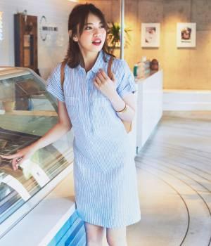 ViS - ビス | 【with6月号掲載】【French Linen】サファリシャツワンピース