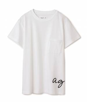 ADAM ET ROPÉ HOMME - アダム エ ロペ オム | BACK PRINT PK Tshirts【agnes b.pour ADAM ET ROPE'】