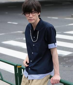 JUNRed - ジュンレッド | 【今だけ!WEB店舗限定34%OFF】裾レイヤードスクエアシャツ