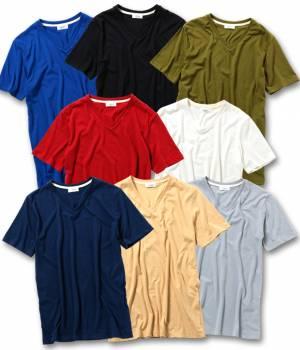 JUNRed - ジュンレッド | CVC Vネック半袖Tシャツ