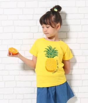 ROPÉ PICNIC KIDS - ロペピクニック キッズ | 【ROPE' PICNIC KIDS】フルーツ柄Tシャツ