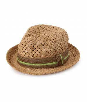 ROPÉ PICNIC KIDS - ロペピクニック キッズ   【ROPE' PICNIC KIDS】ペーパー中折れ帽