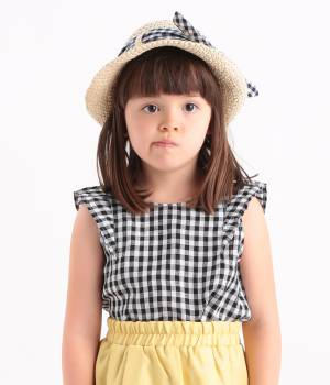 ROPÉ PICNIC KIDS - ロペピクニック キッズ | 【ROPE' PICNIC KIDS】【FRENCH LINEN】フリルブラウス