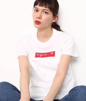 ADAM ET ROPÉ FEMME - アダム エ ロペ ファム   【先行予約】【agnès b. pour ADAM ET ROPÉ 】BOX LOGO T-shirts