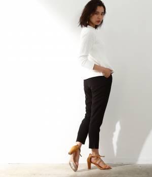 ROPÉ mademoiselle - ロペ マドモアゼル | 2タックとろみテーパードパンツ
