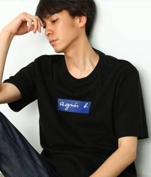 ADAM ET ROPÉ HOMME - アダム エ ロペ オム | 【先行予約】【agnes b. pour ADAM ET ROPE'】BOX LOGO T-shirts