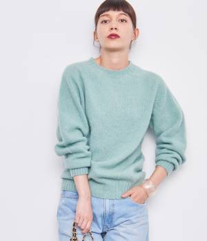 ADAM ET ROPÉ FEMME - アダム エ ロペ ファム   【Inverallan Authentic Knitwear】 Shaggy knit