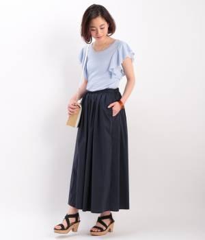 ROPÉ PICNIC - ロペピクニック   【今だけ!WEB店舗限定50%OFF】袖レイヤードフリルプルオーバー