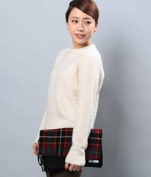 LE JUN MEN - ル ジュン メン   【Harris Tweed】クラッチバッグ