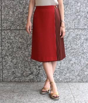 ROPÉ mademoiselle - ロペ マドモアゼル | 【JJ5月号掲載】アコーディオンプリーツラップスカート