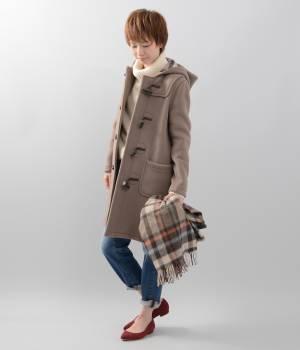 LE JUN WOMEN - ル ジュン  ウィメン | 【先行予約】【LONDON TRADITION】A-line Duffle Coat