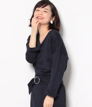 ViS - ビス | 【ただいまセール開催中】★戸田恵梨香さん着用★【セットアップ対応商品】ポンチドルマンプルオーバー