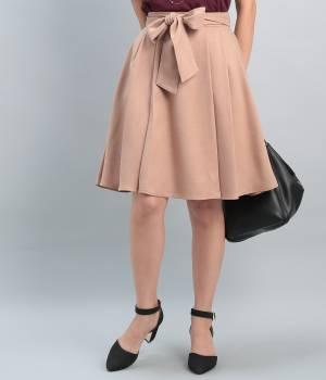 ROPÉ PICNIC - ロペピクニック | エステルスラブリボン付スカート