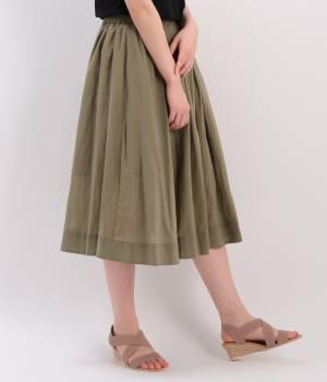 ViS - ビス | W裾ギャザースカート