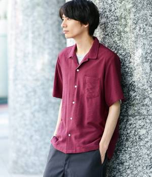 JUNRed - ジュンレッド | ソフトドレープカラーシャツ