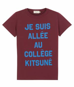 MAISON KITSUNÉ PARIS WOMEN - メゾン キツネ ウィメン | 【今だけ!WEB店舗限定40%OFF】T SHIRT JE SUIS ALLE