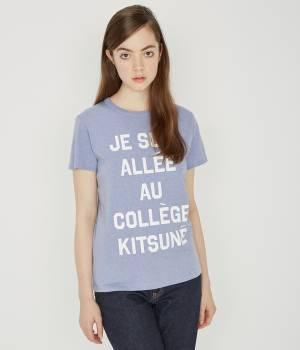 MAISON KITSUNÉ PARIS WOMEN - メゾン キツネ ウィメン | T SHIRT JE SUIS ALLE