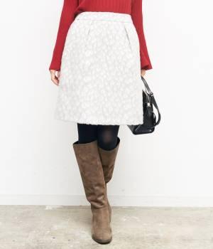 ROPÉ PICNIC - ロペピクニック | 【街ピク着用アイテム ROPE' PICNIC×MERY】アニマルシャギータックコクーンスカート