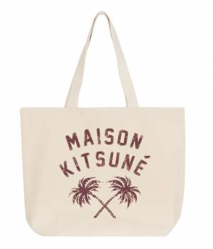 MAISON KITSUNÉ PARIS MEN - メゾン キツネ メン | TOTE BAG PALMTREE