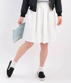 ROPÉ PICNIC - ロペピクニック   カットジャガードスカート