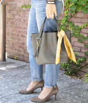 ROPÉ - ロペ | 【Oggi10月号掲載】【スカーフ付】軽量2wayバケットバッグ