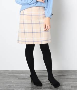 ROPÉ PICNIC - ロペピクニック | ウールコンシャギーダイケイスカート