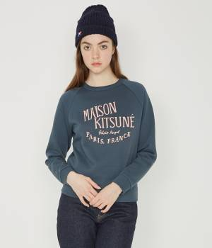 MAISON KITSUNÉ PARIS WOMEN - メゾン キツネ ウィメン | 【先行予約】SWEAT PALAIS ROYAL