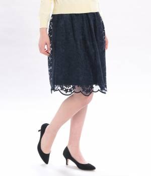 ViS - ビス | ★2/25ヒルナンデス!放映★レース刺繍ギャザースカート