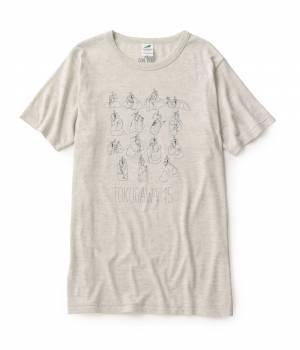 JUN SELECT - ジュンセレクト | 磯部磯兵衛物語×JUNRed 徳川家15兄弟Tシャツ