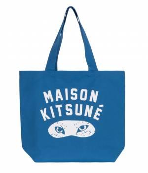 MAISON KITSUNÉ PARIS MEN - メゾン キツネ メン   TOTE BAG FOX EYES