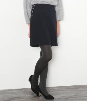 ROPÉ PICNIC - ロペピクニック | 【紙兎ロペ BOOK掲載】ウールコンマリン台形スカート