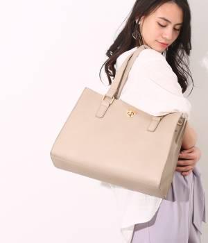 ViS - ビス | 【2WAY】ヒネリポイント仕切り付きトートバッグ