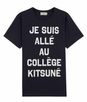 MAISON KITSUNÉ PARIS MEN - メゾン キツネ メン   PERM TEE JE SUIS ALL