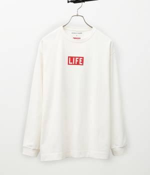 ADAM ET ROPÉ HOMME - アダム エ ロペ オム | 「LIFE誌」プリントTシャツ
