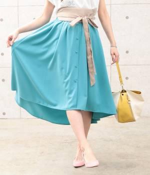ViS - ビス | 【sweet4月号掲載】【sweet×ViSコラボ】ラウンドヘムギャザースカート