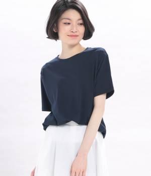 ROPÉ mademoiselle - ロペ マドモアゼル | 【Marisol4月号掲載】ベーシッククルーネックTシャツ