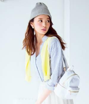 ViS - ビス | 【French Linen】【2WAY】スキッパーシャツ